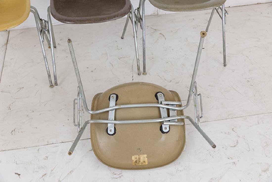 Charles & Ray Eames Side Shells - 6
