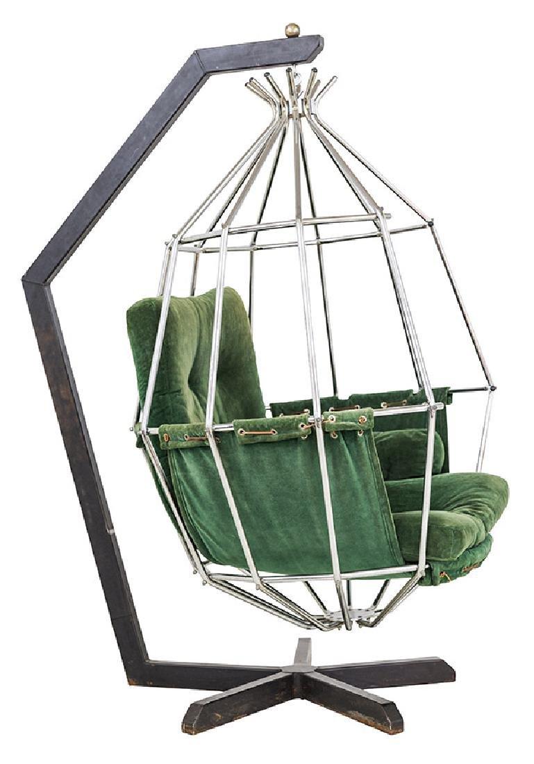 "Ib Arberg ""Birdcage"" Chair"