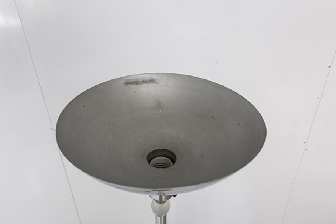Art Deco Torchiere Lamp - 6