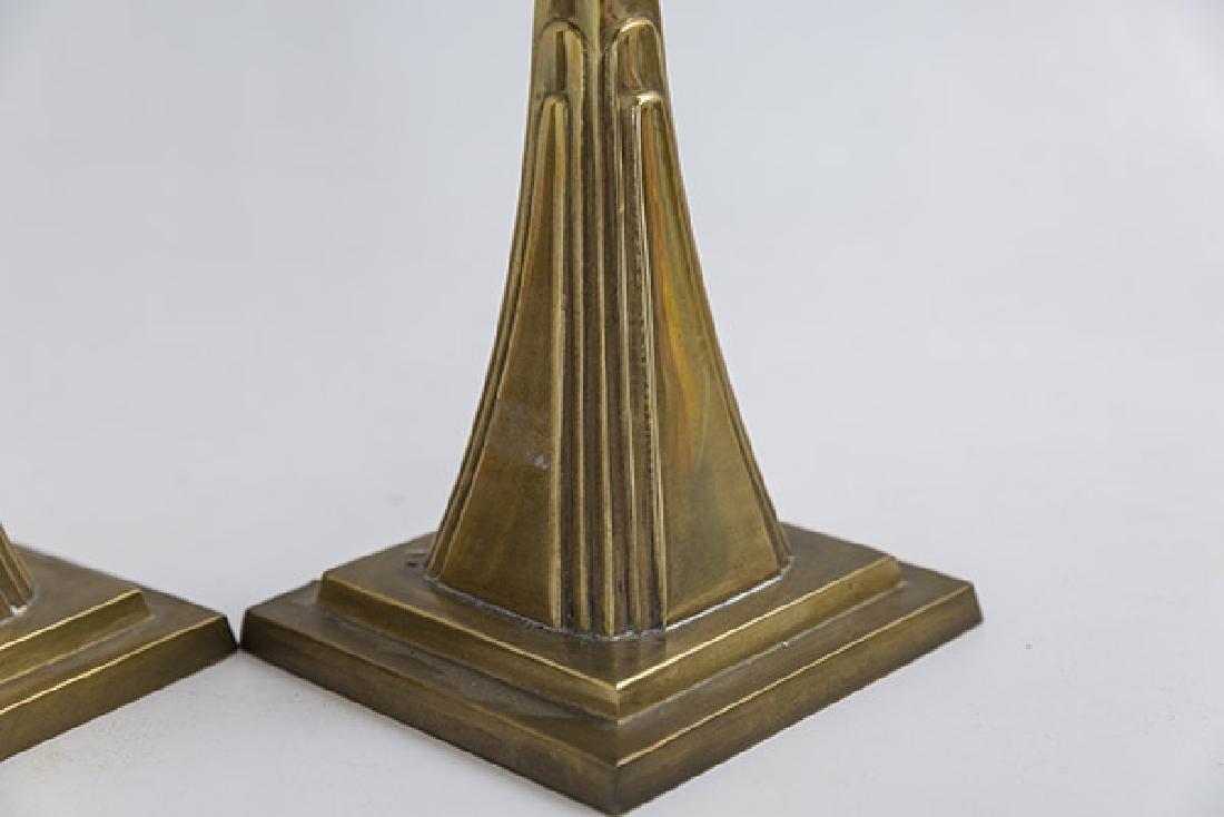 Art Deco Candlesticks - 2