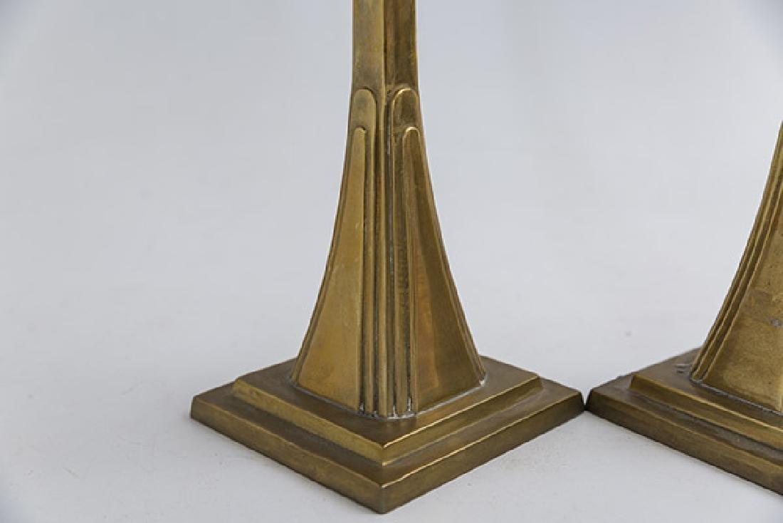 Art Deco Candlesticks - 3