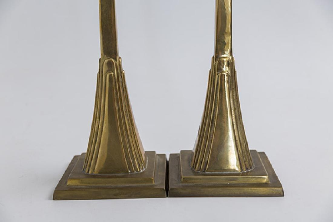 Art Deco Candlesticks - 4