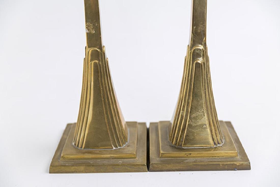 Art Deco Candlesticks - 9