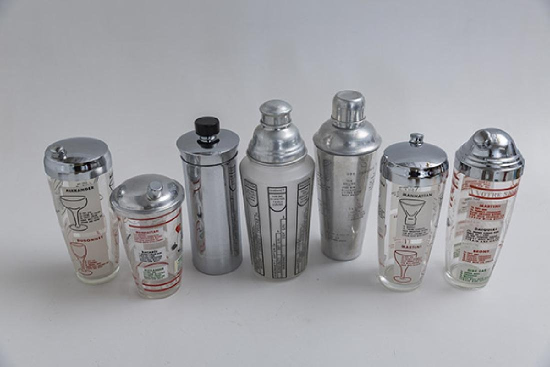 Art Deco Cocktail Shakers - 2