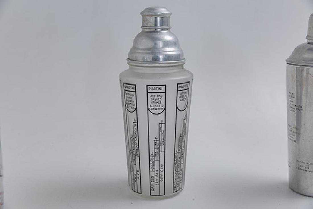 Art Deco Cocktail Shakers - 3