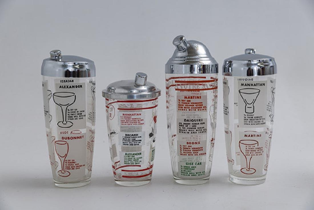 Art Deco Cocktail Shakers - 5