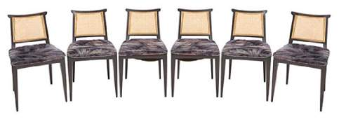Edward Wormley Dining Chairs Model #4632S