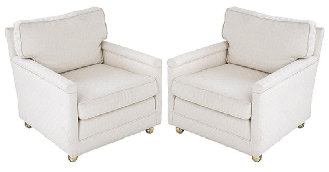 Edward Wormley Lounge Chairs