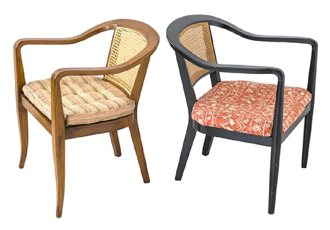 In the Manner of Edward Wormley Lounge Chairs