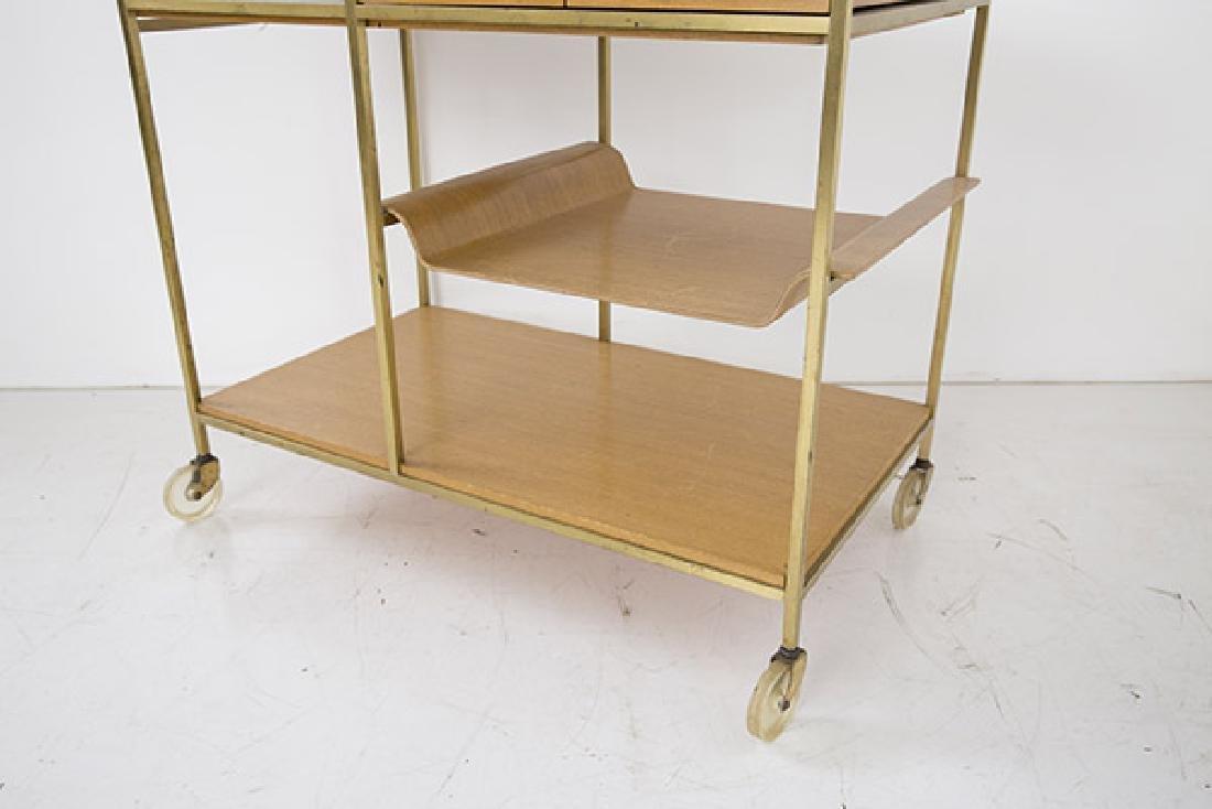 "Paul McCobb ""Irwin"" Collection Tea Cart - 3"