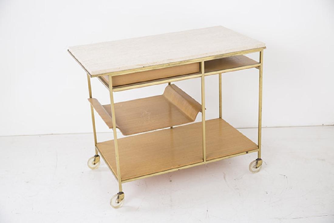 "Paul McCobb ""Irwin"" Collection Tea Cart - 7"
