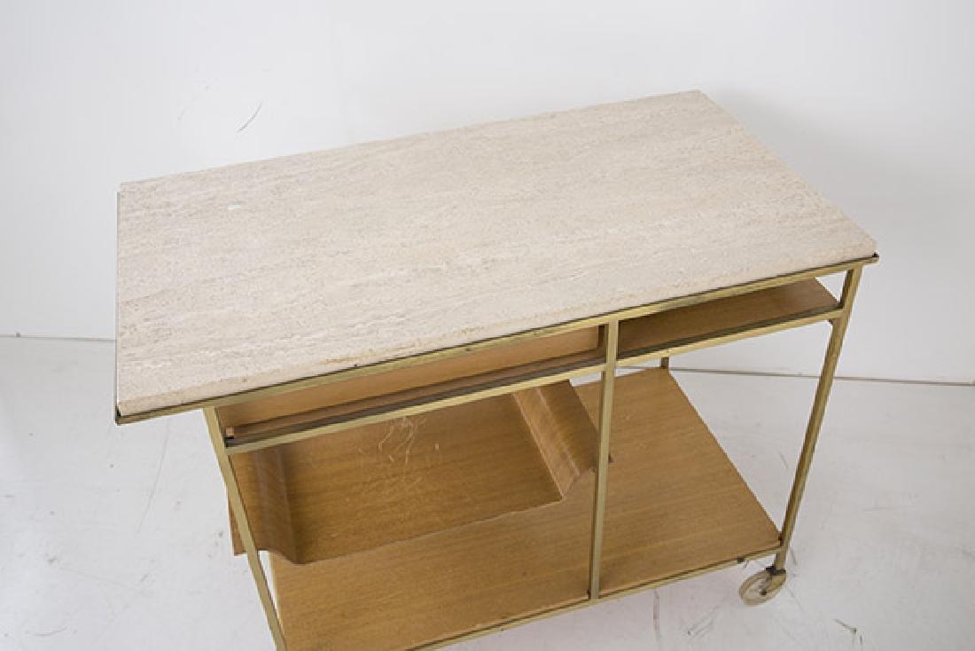 "Paul McCobb ""Irwin"" Collection Tea Cart - 8"