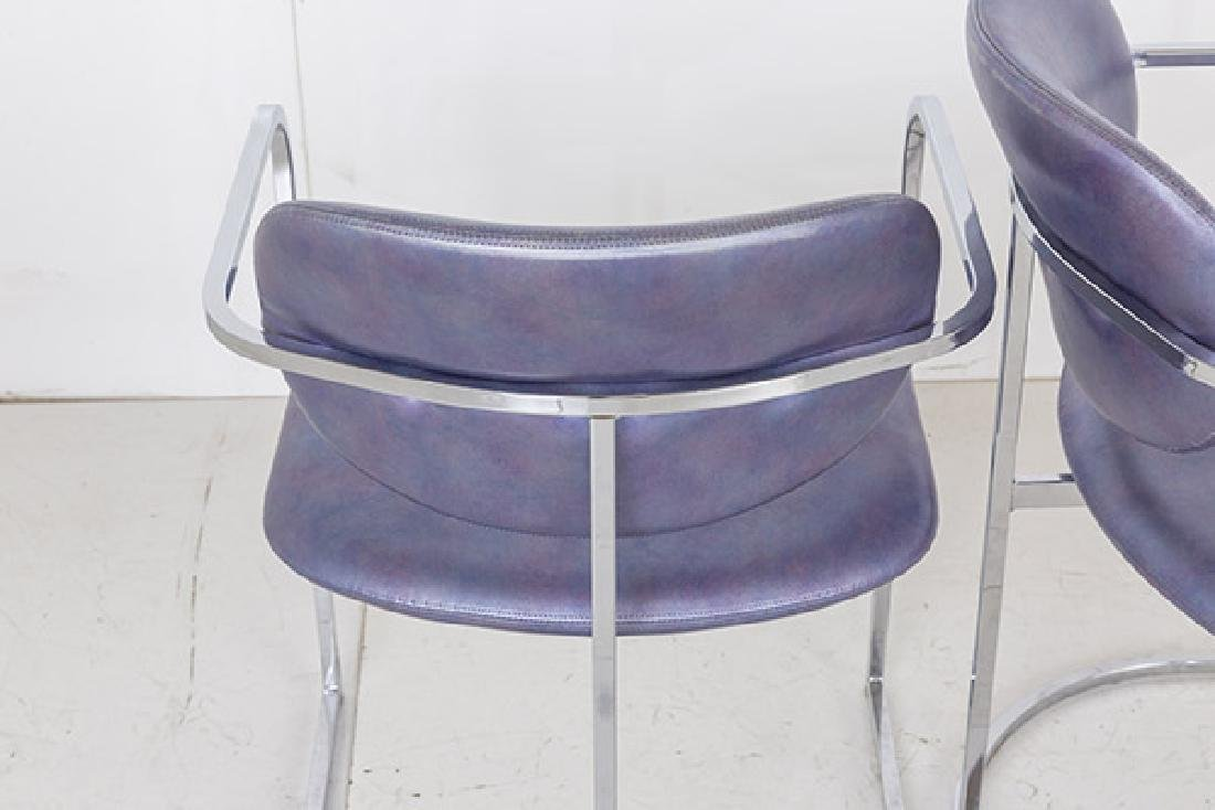 Milo Baughman Dining Chairs - 4