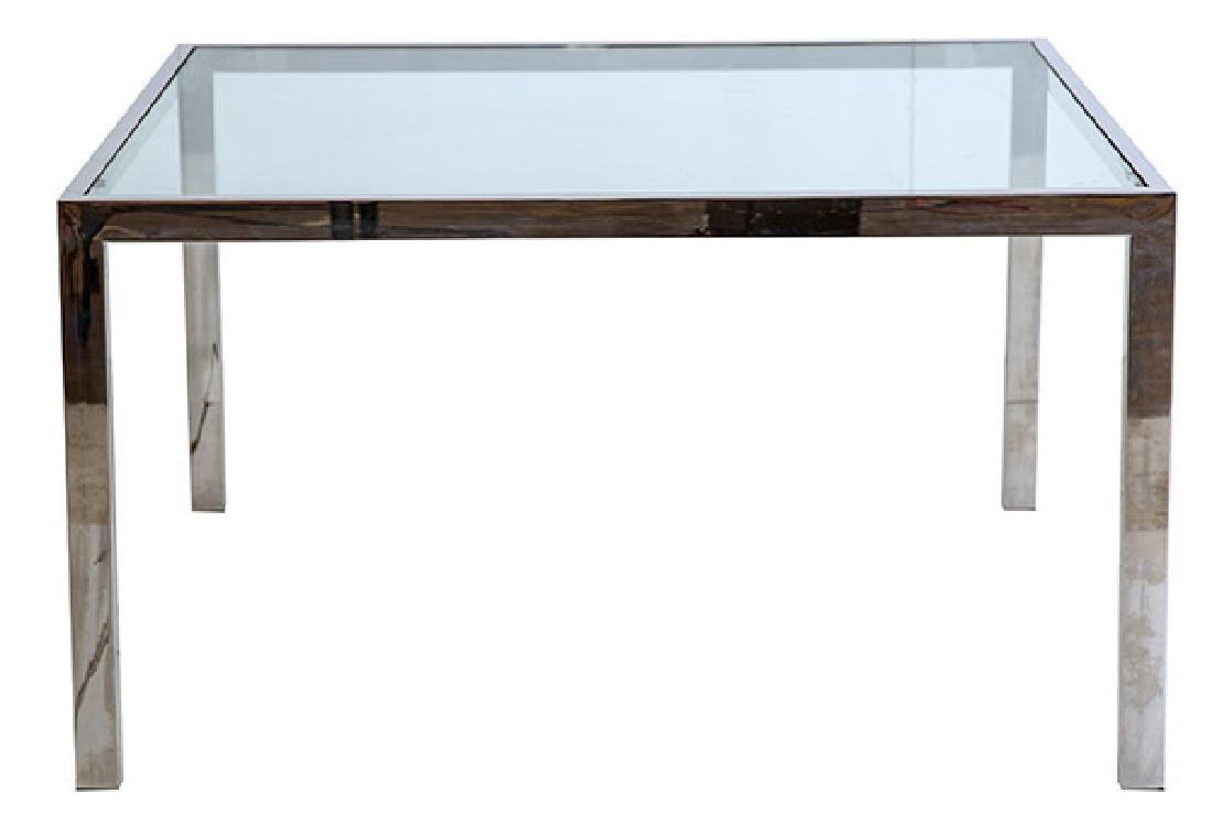 Milo Baughman Special Order Dining Table