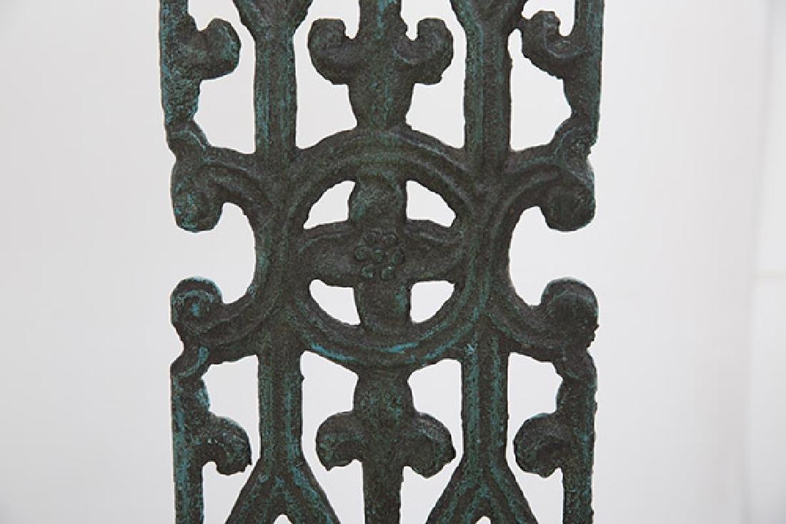 Mid Century Bronze Lamps - 4