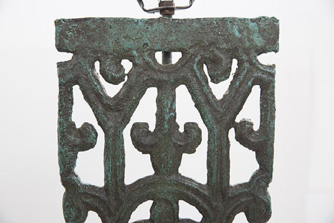 Mid Century Bronze Lamps - 5