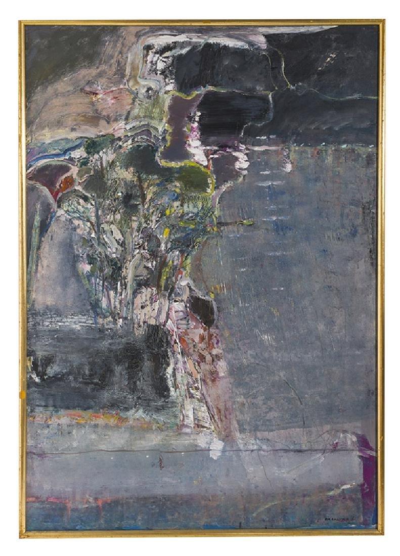 Arthur Okamura (1932-2009) Oil (California)