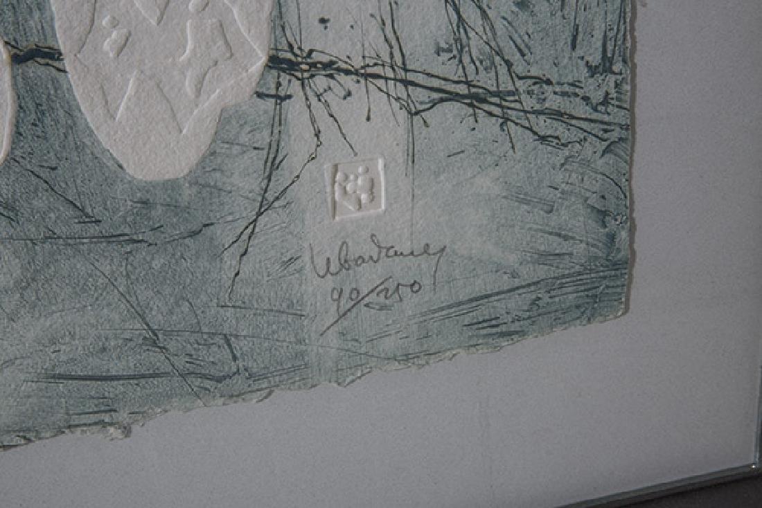 Hoi Lebadang (b 1922) Lithograph (France, Vietnam) - 2