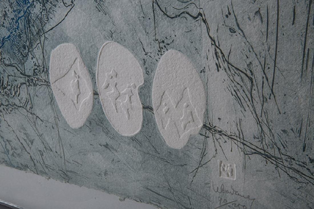 Hoi Lebadang (b 1922) Lithograph (France, Vietnam) - 4