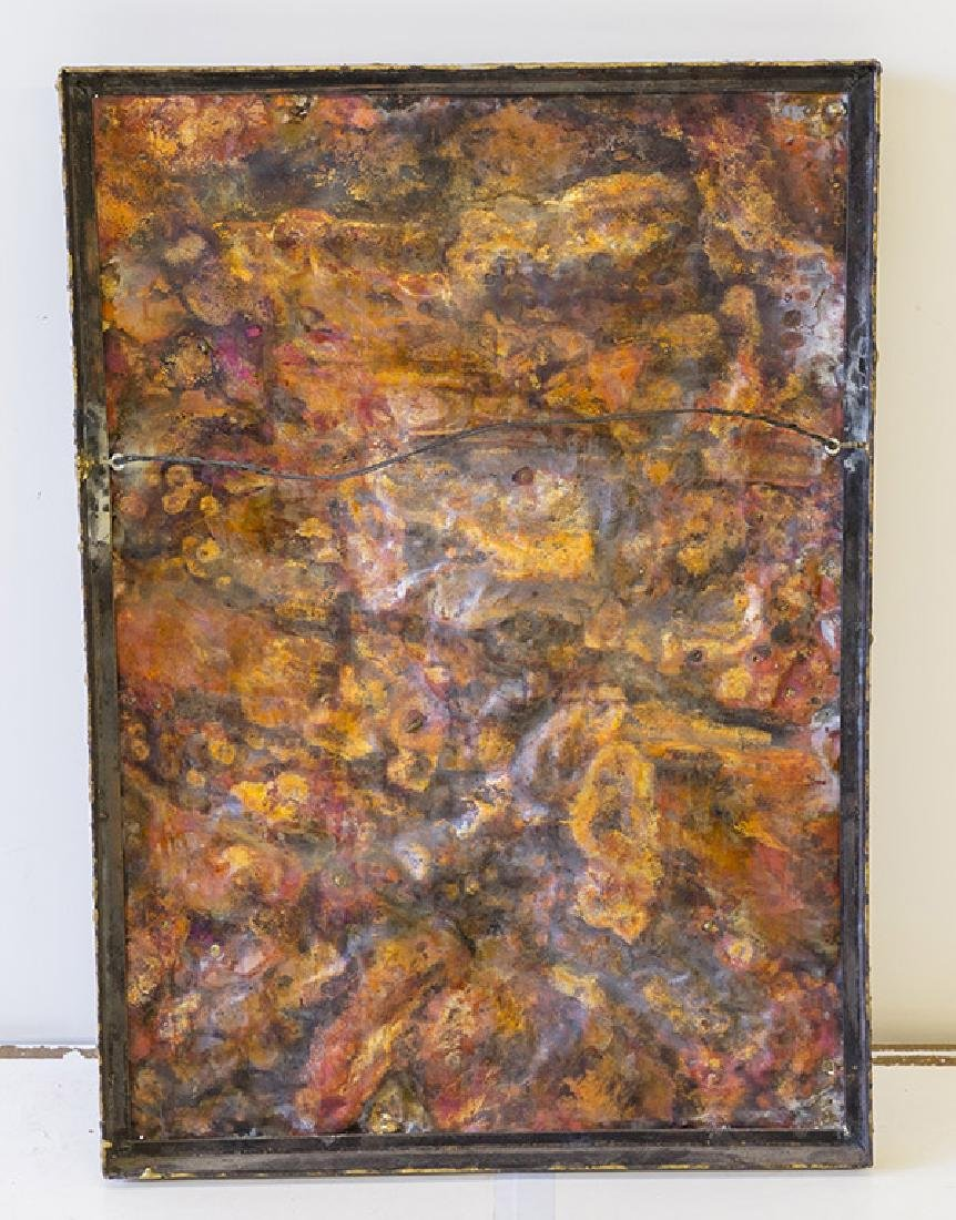 Copper Wall Relief Nail Sculpture - 5