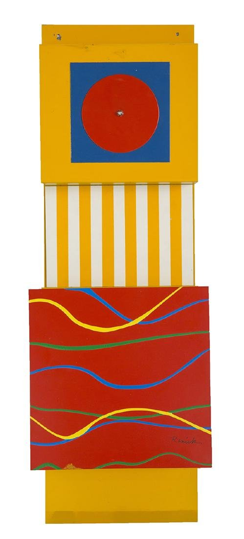 Patricia A. Renick (1932-2007) Wall Relief Sculpture
