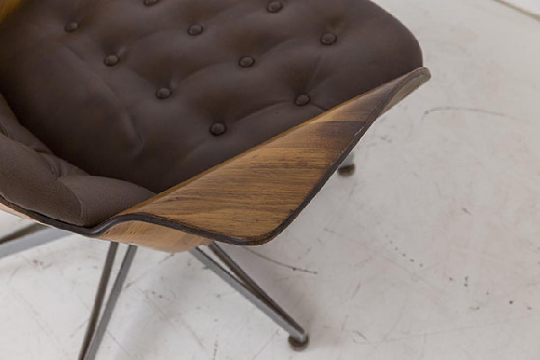 George Mulhauser Mr. Chair and Ottoman - 6