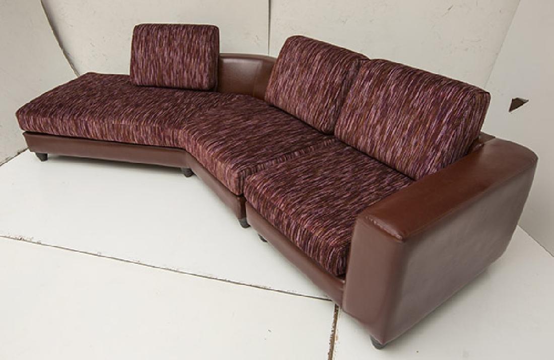 Carter Contemporary Sectional Sofa - 2