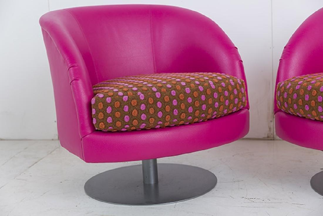 Custom Carter Swivel Lounge Chairs - 3