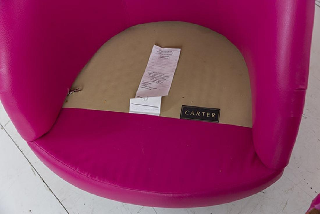 Custom Carter Swivel Lounge Chairs - 7