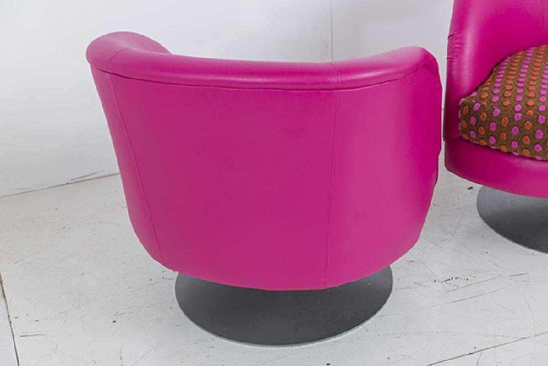 Custom Carter Swivel Lounge Chairs - 8