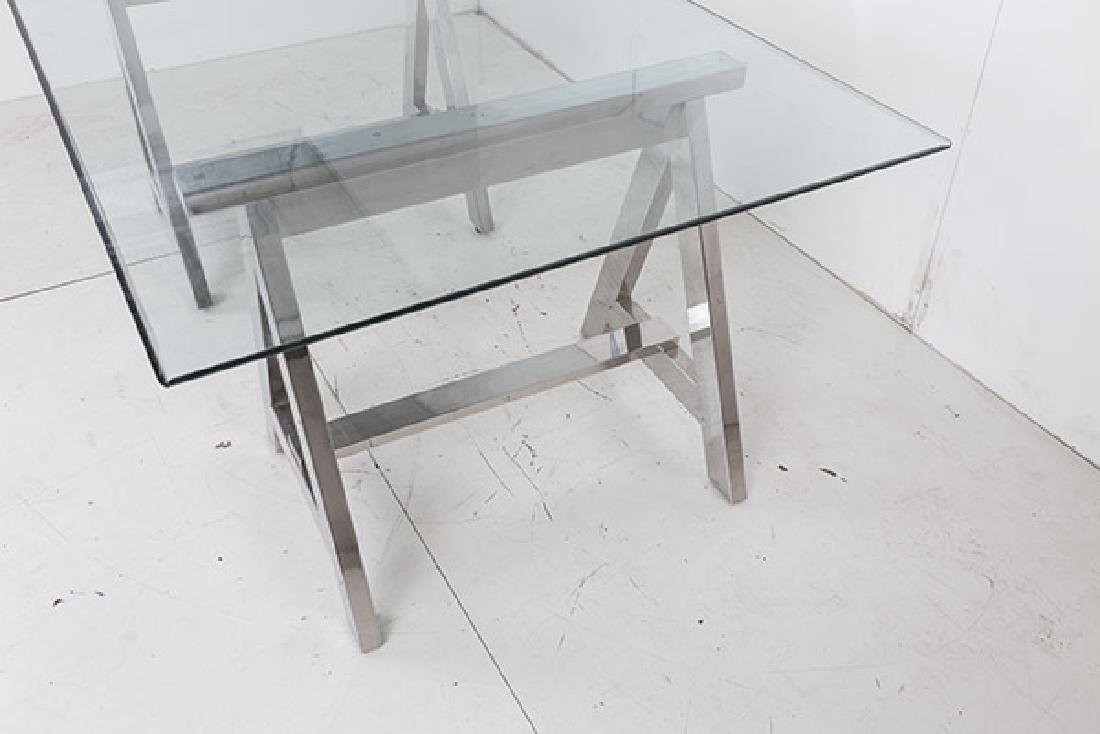 Ralph Lauren Saw Horse Desk/Dining Table - 10