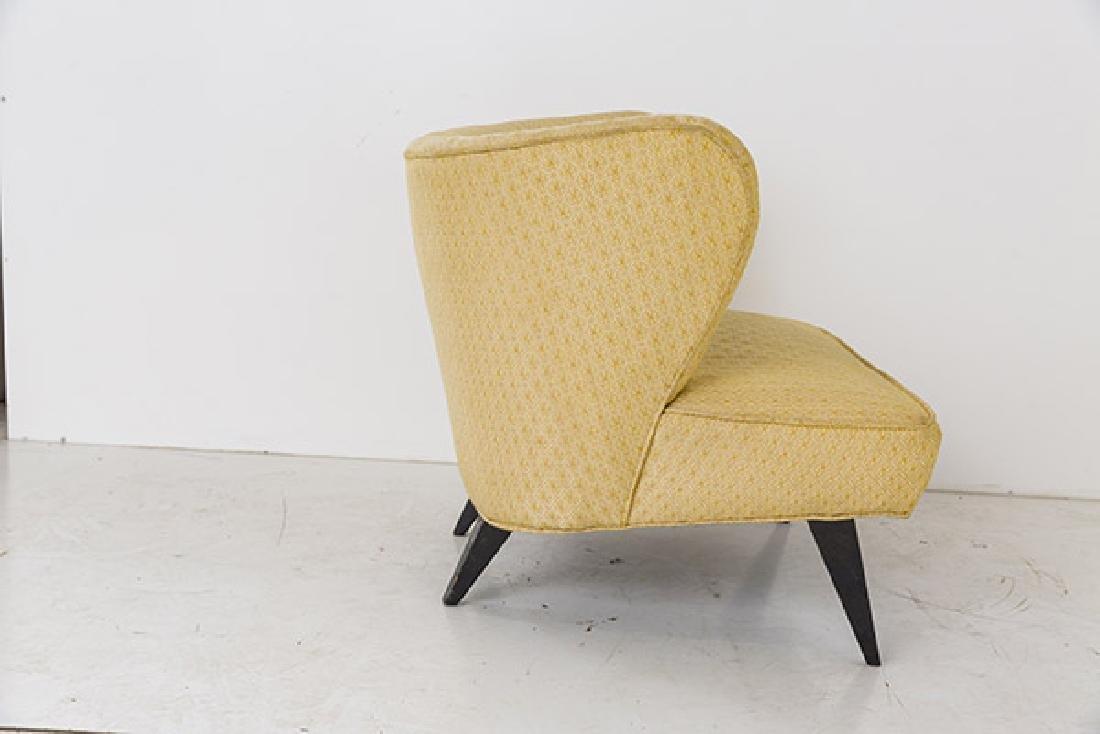 Rare Norman Bel Geddes Slipper Chairs - 4
