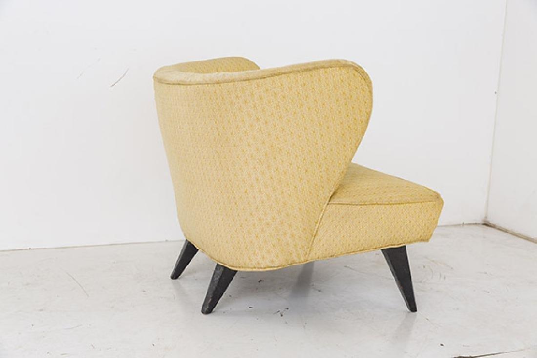 Rare Norman Bel Geddes Slipper Chairs - 5