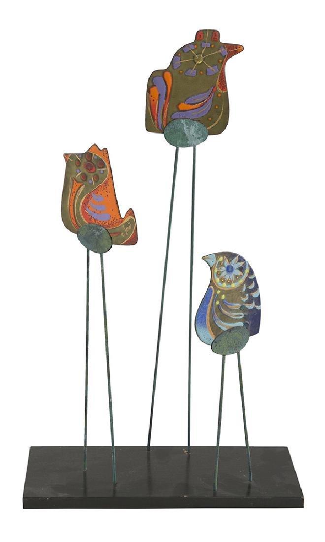 Curtis Jere Bird Sculpture