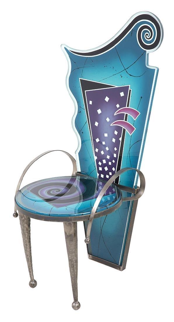 Calman Shemi (b 1939) Sculptured Chair