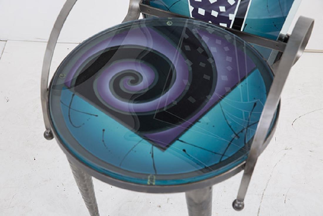 Calman Shemi (b 1939) Sculptured Chair - 8