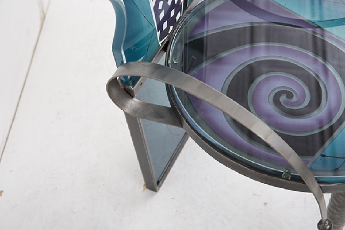 Calman Shemi (b 1939) Sculptured Chair - 9