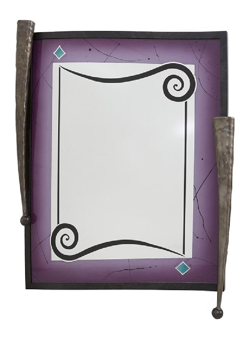 Calman Shemi (b 1939) Sculptured Mirror