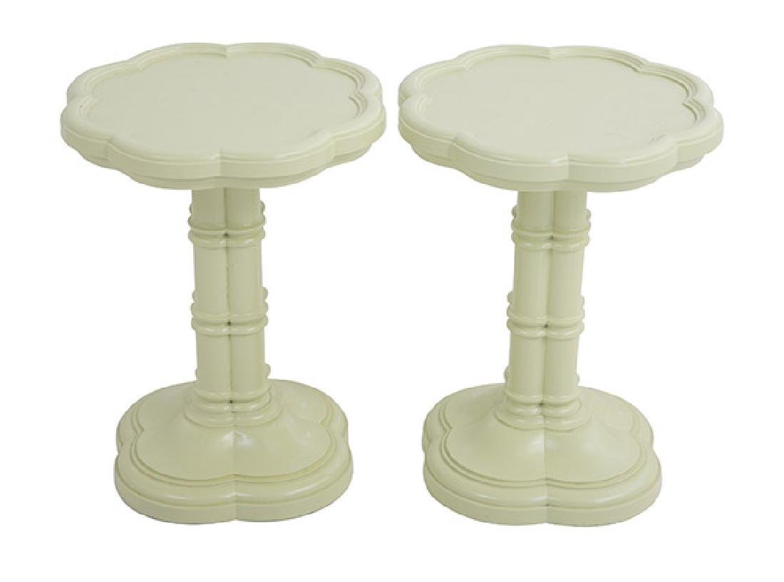 Mid Century Clover Occasional Tables