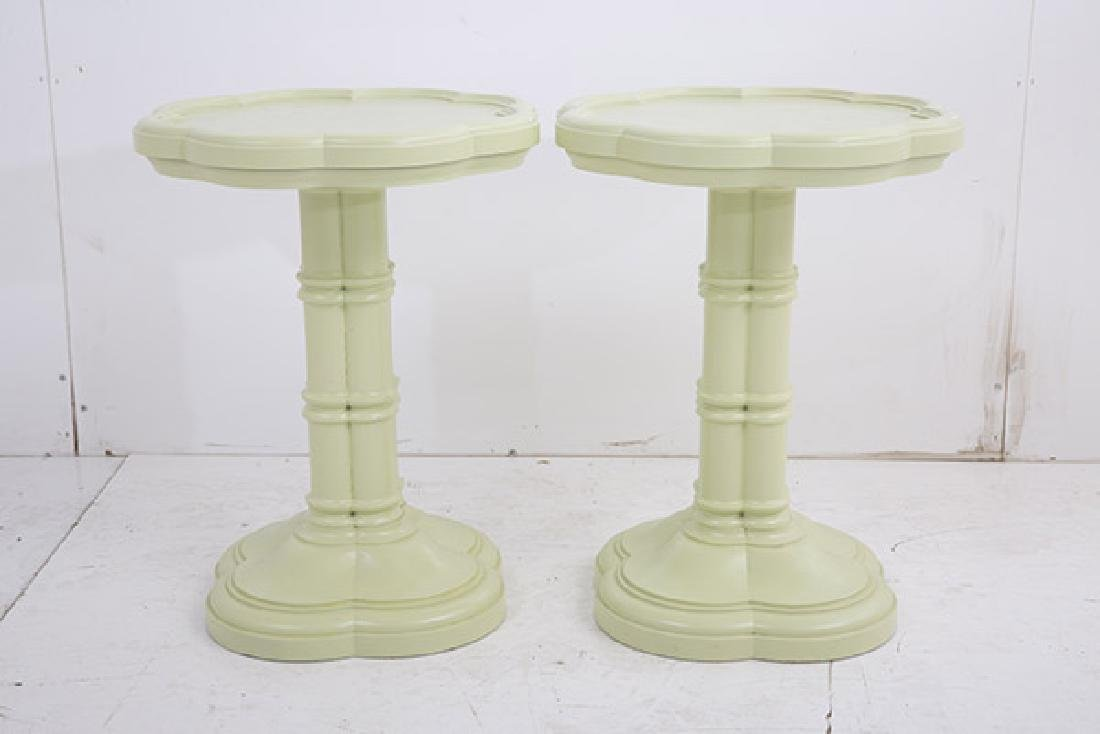 Mid Century Clover Occasional Tables - 2