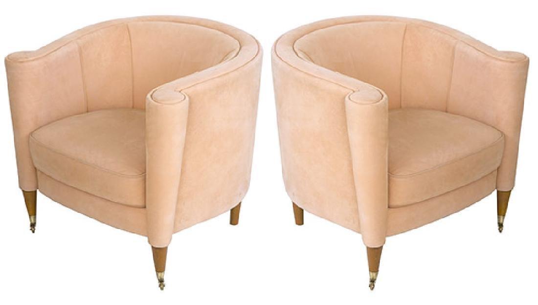 Mid-Century Italian Lounge Chairs