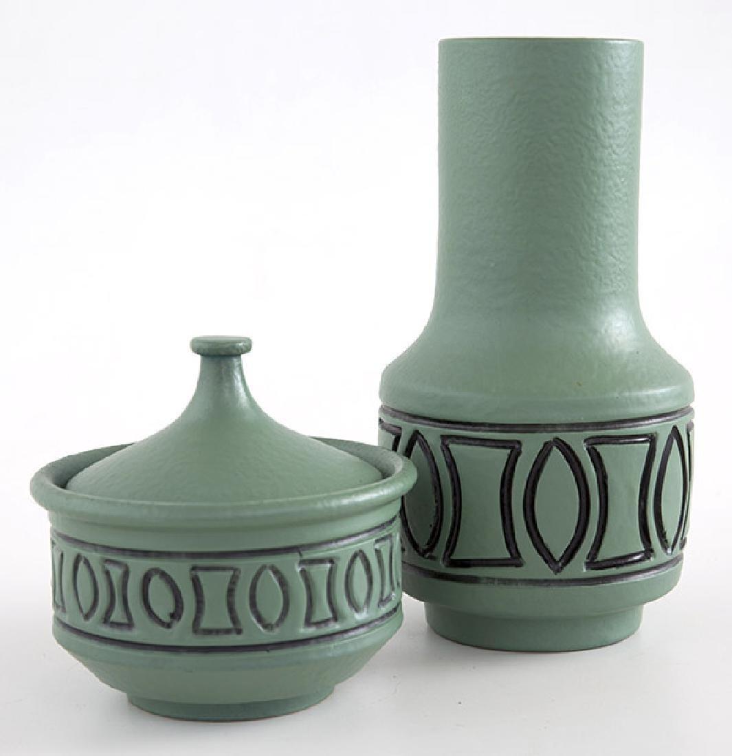 Bagni Vase & Lidded Jar