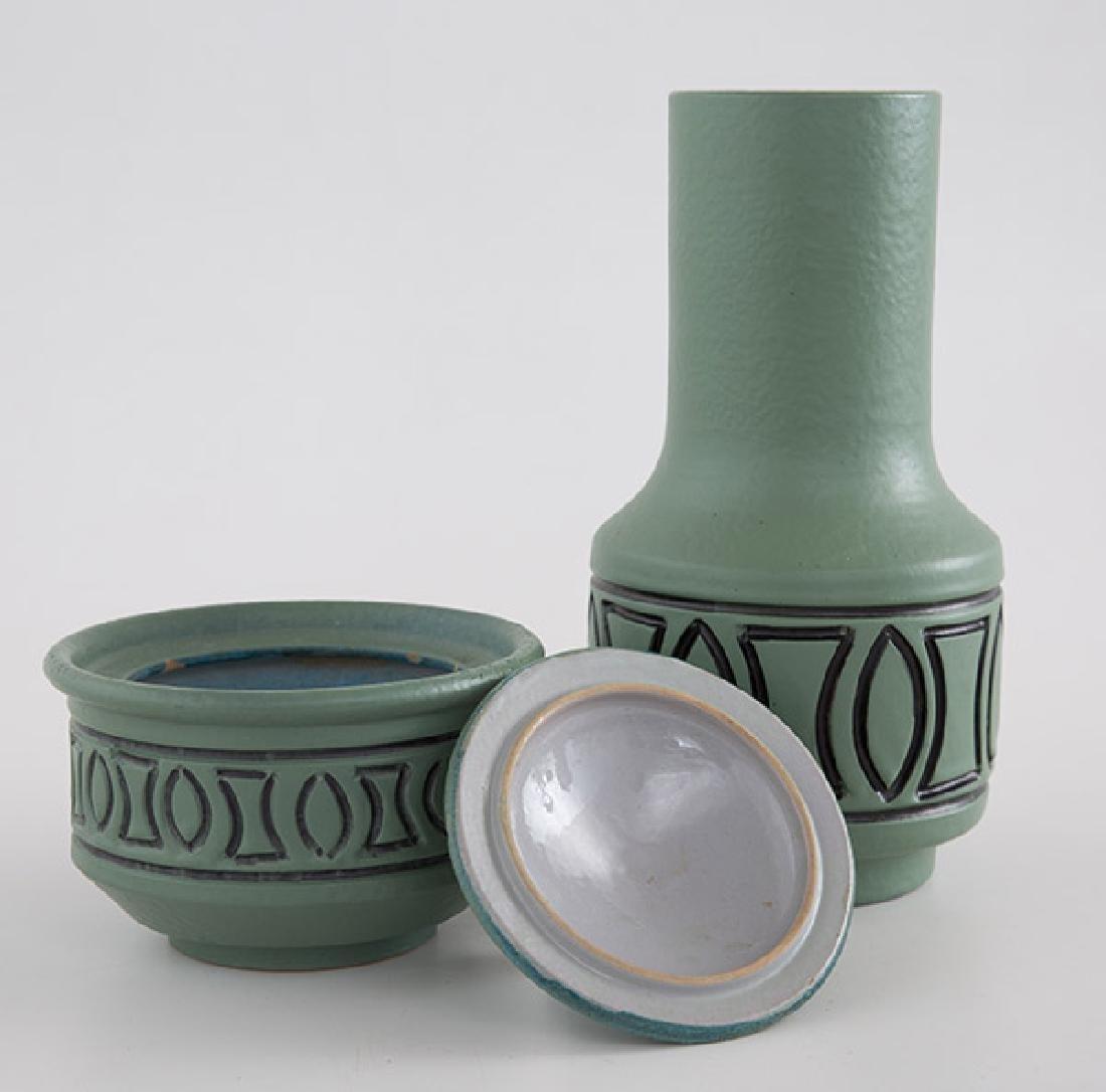 Bagni Vase & Lidded Jar - 2
