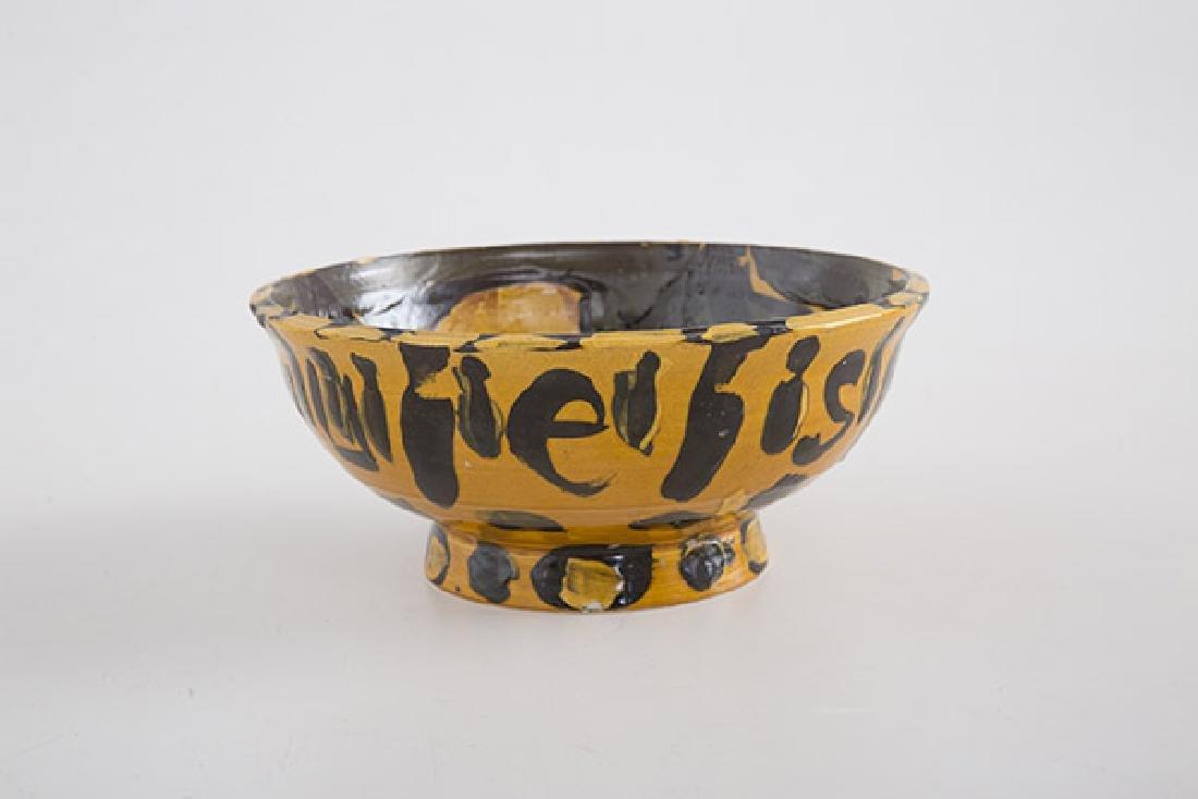 Peter Daltoda Stoneware Bowl - 4