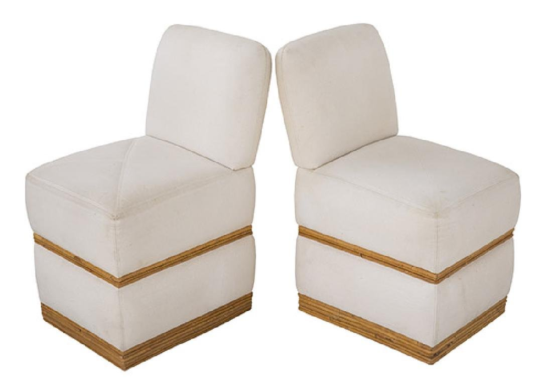 Rare Vintage Billy Baldwin Slipper Chairs