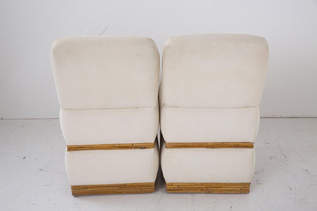 Rare Vintage Billy Baldwin Slipper Chairs - 5
