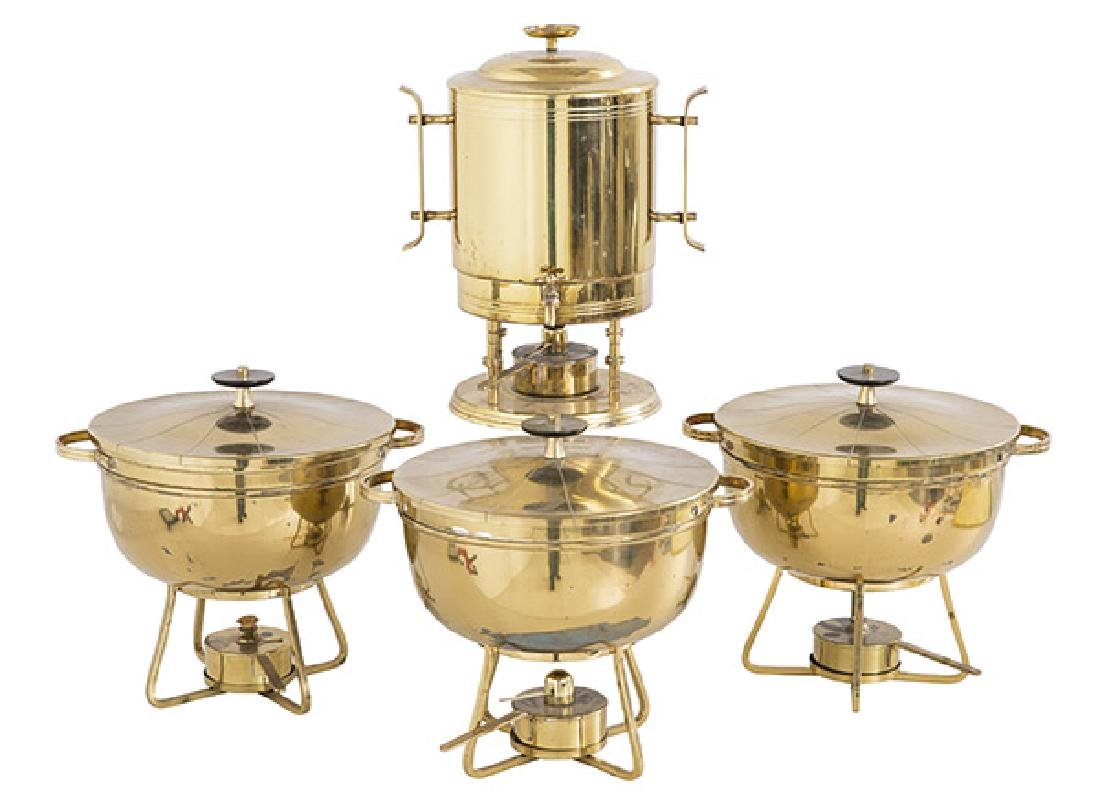 Tommi Parzinger Chafing Servers & Coffee Urn