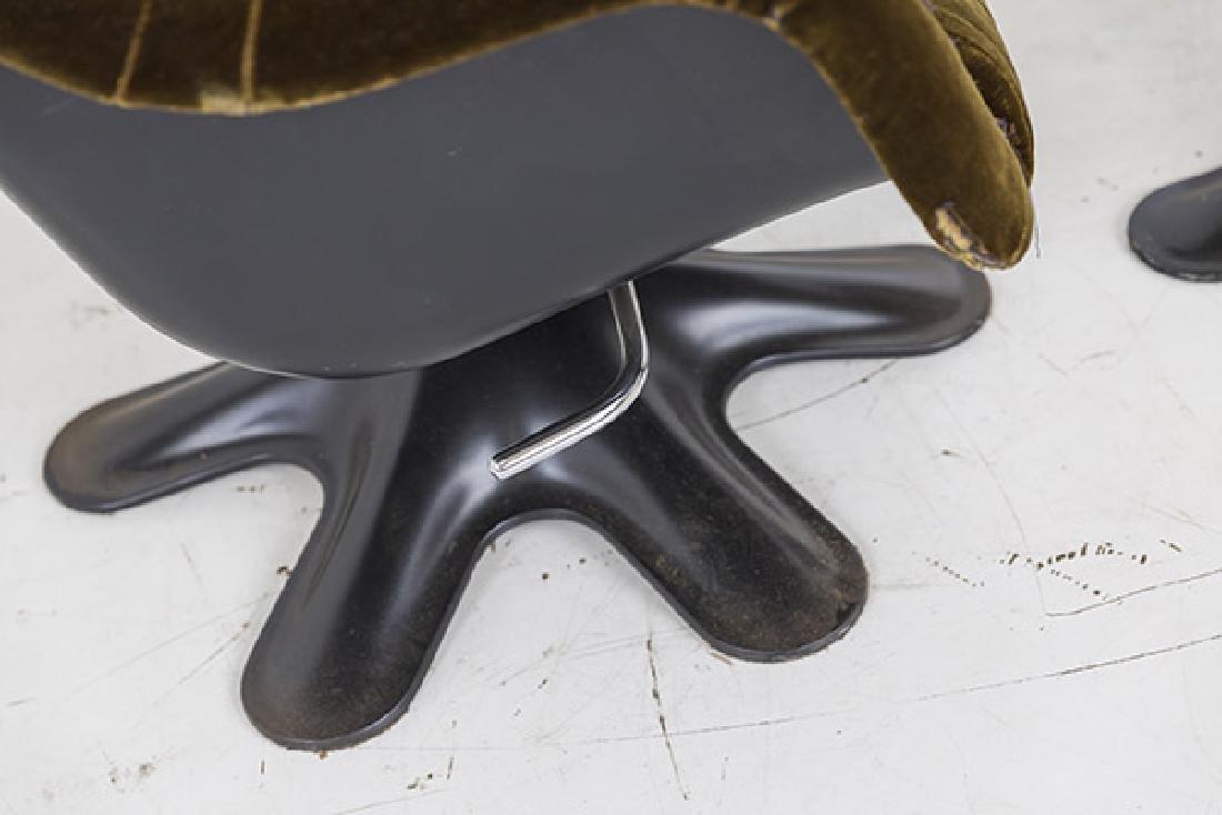 Yrjo Kukkapuro Karnselli Lounge Chair and Ottoman - 3