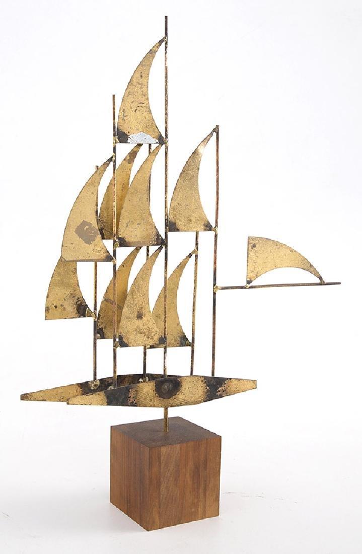 """William Bowie """"Windjammer"""" Sculpture"""
