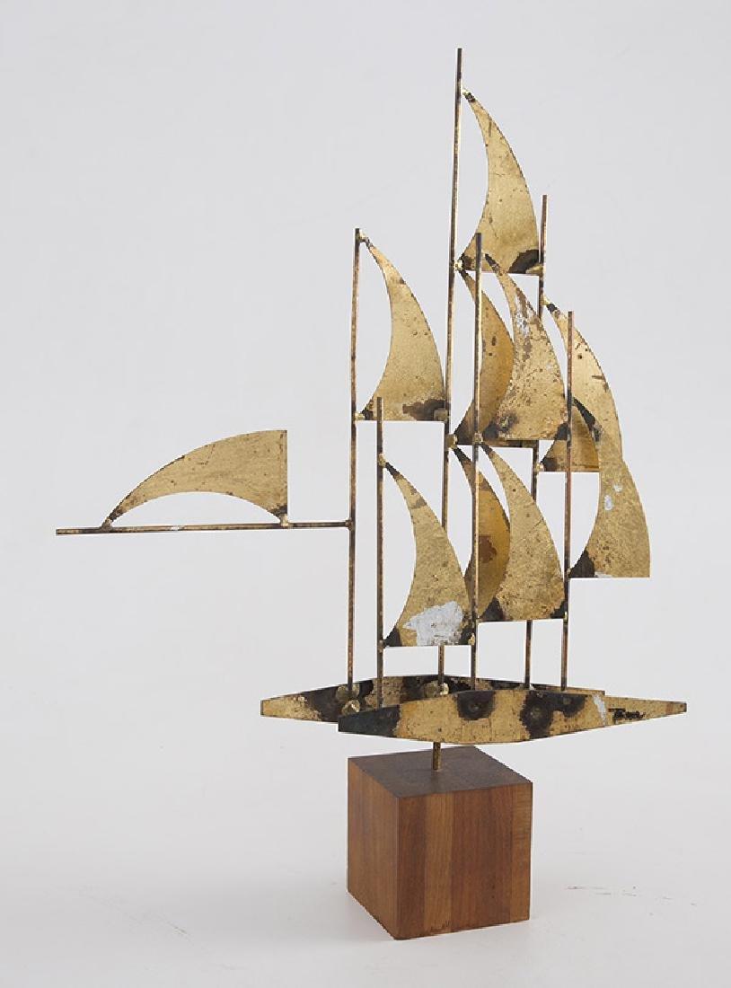 """William Bowie """"Windjammer"""" Sculpture - 3"""